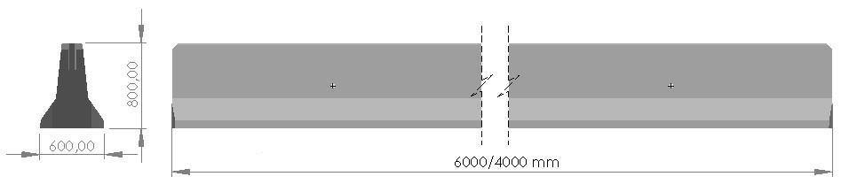 DB 80 - dimensions